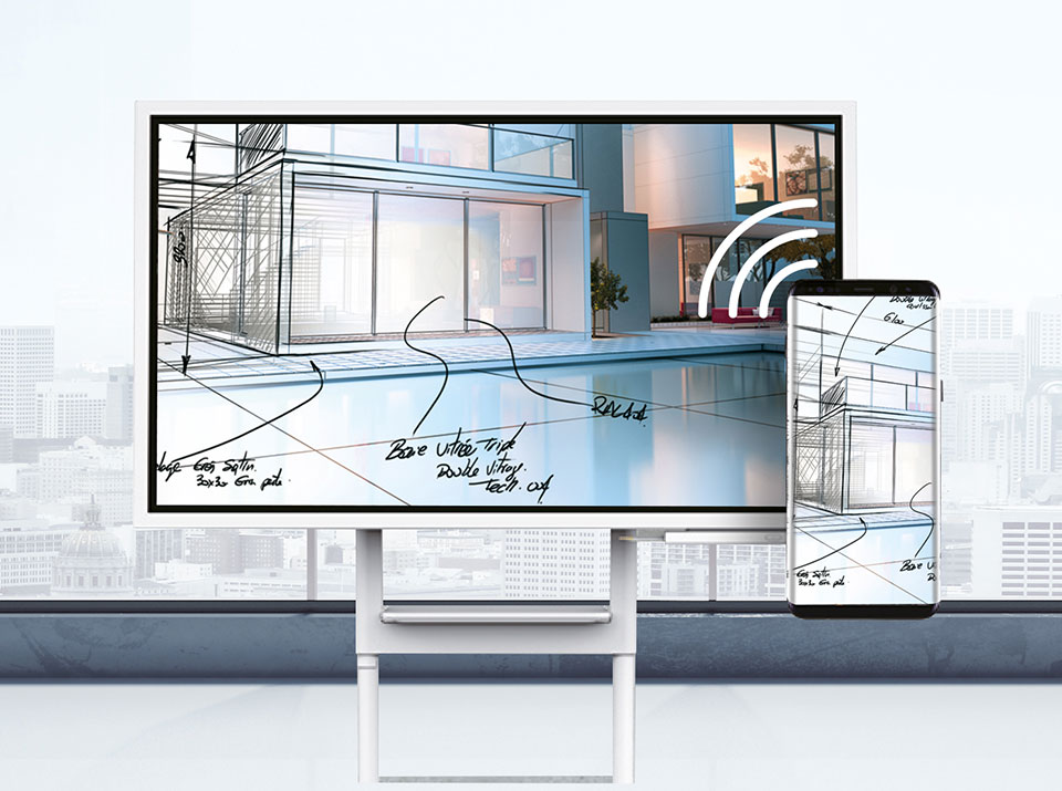 Samsung Flip Beispiel groß