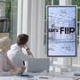 Samsung Flip digitales Flipchart klein