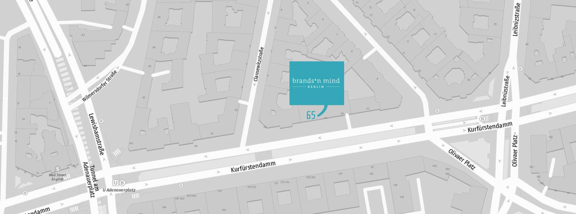 brandsn mind Standort Karte Berlin