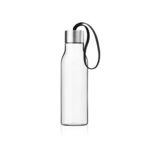 Eva Solo Trinkflasche 0,5 Liter schwarz verschlossen