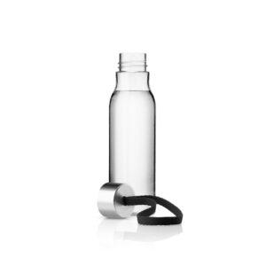 Eva Solo Trinkflasche 0,5 Liter schwarz offen