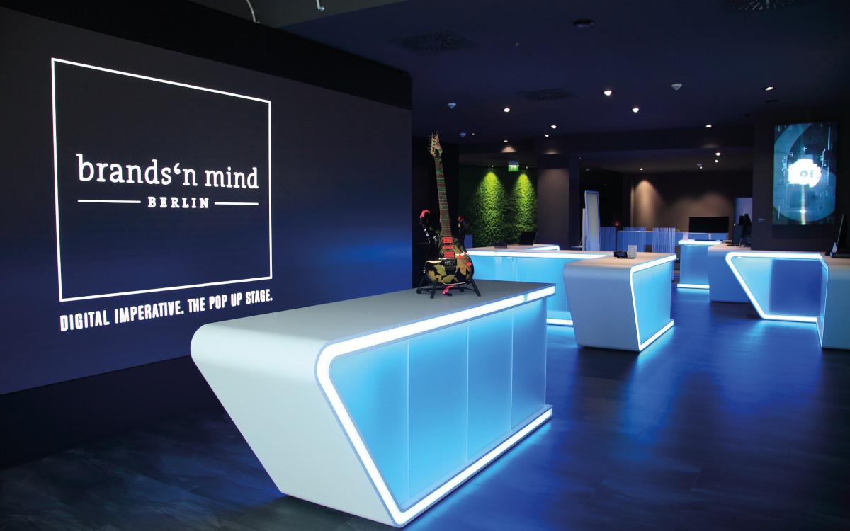 brands'n mind Eröffnung Eingangsbereich